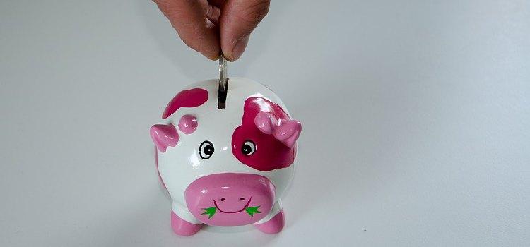 Zinsen-Sparschwein